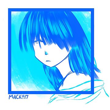 Lady in Blue by RadioactiveSoda
