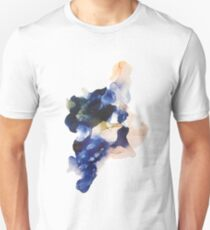 INK watercolor fluidart art blue nude T-Shirt