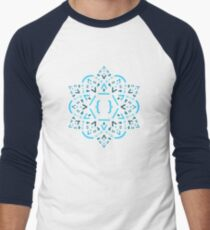 Code Mandala - React Framework Men's Baseball ¾ T-Shirt