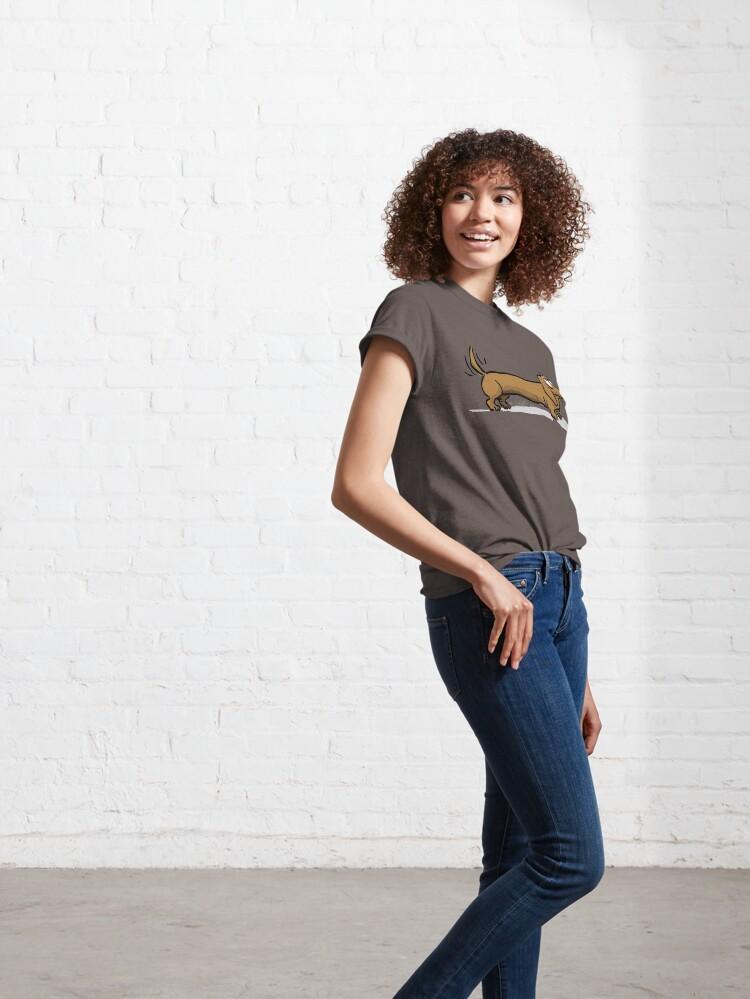 Alternative Ansicht von CORNIBUS DACKEL Classic T-Shirt