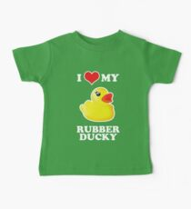 I Love My Rubber Ducky [iPad / iPhone / iPod Case, Print & Tshirt] Baby Tee