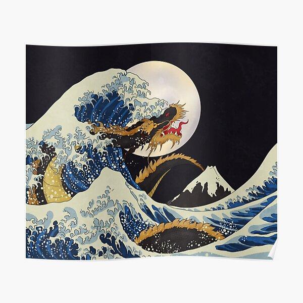 Dragon Wave Poster