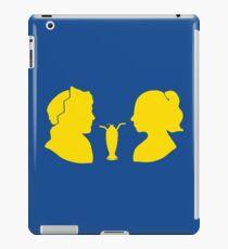 Milkshake Silhouette (J+B | Yellow) iPad Case/Skin