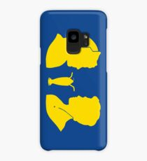 Milkshake Silhouette (J+A | Yellow) Case/Skin for Samsung Galaxy