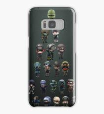 Rainbow Six Siege Chibi Stickerbomb Design Samsung Galaxy Case/Skin