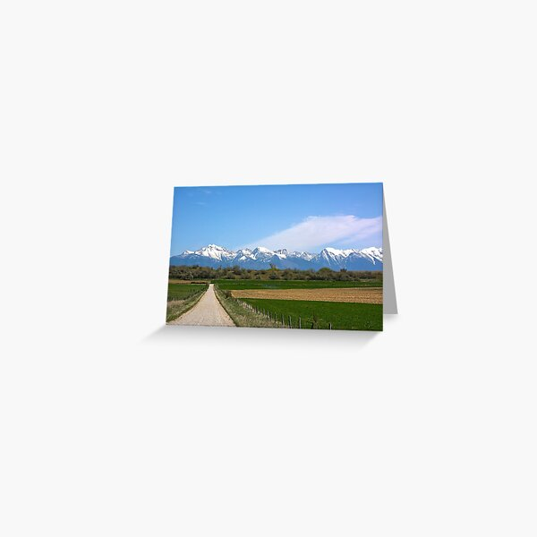 The Missions from Moiese Valley 2 Greeting Card