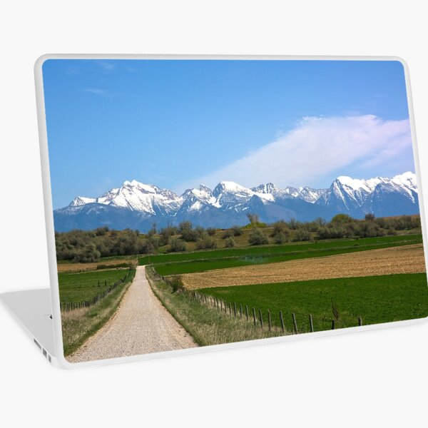 The Missions from Moiese Valley 2 Laptop Skin