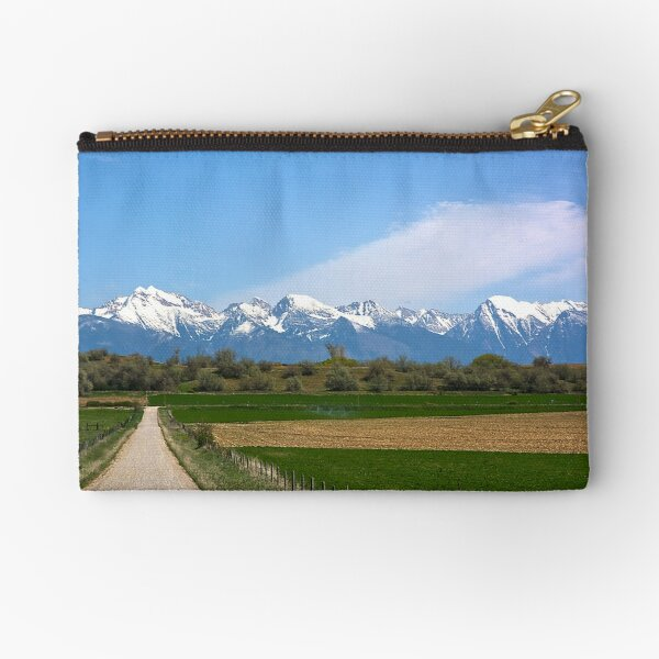 The Missions from Moiese Valley 2 Zipper Pouch