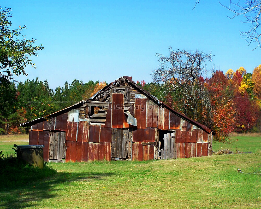 Patchwork Barn by Lisa Taylor