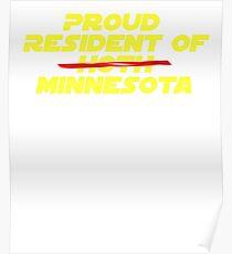 Star Wars Proud Minnesota Resident Shirt Poster