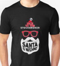 Stockbroker christmas funny shirt Unisex T-Shirt