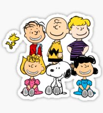 Charlie Brown, Snoopy and Peanuts Gang Sticker