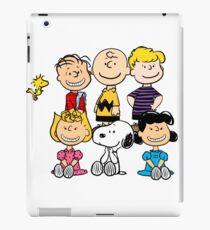 Charlie Brown, Snoopy and Peanuts Gang iPad Case/Skin