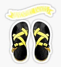 Yellow Chacos Sticker
