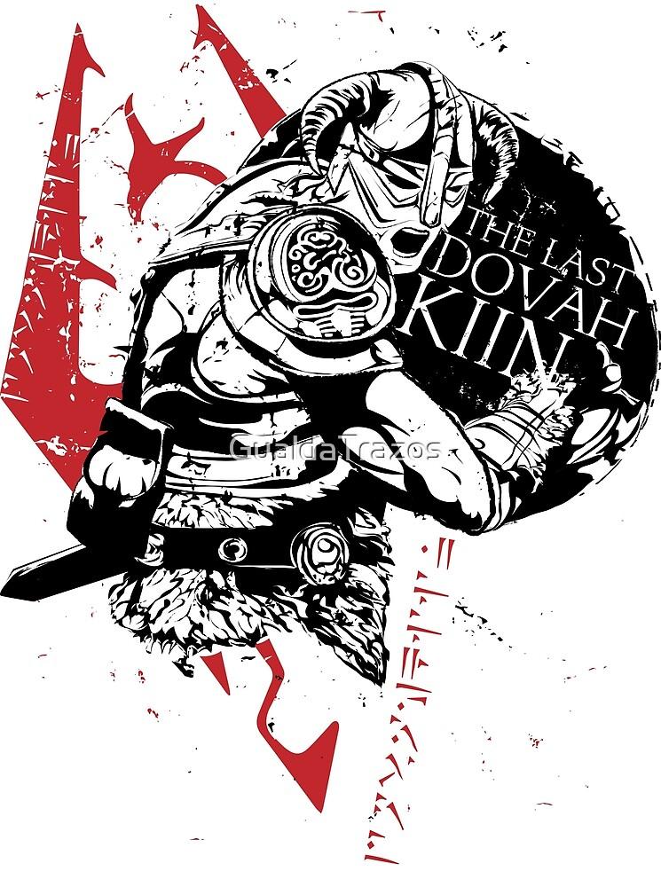 «The Last Dovahkiin» de GualdaTrazos