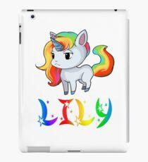 Lily Unicorn iPad Case/Skin