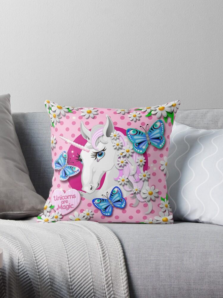 Japanese Kawaii and Harajuku Inspired Retro Unicorns are Magic Pattern by Moose Disco by MooseDisco