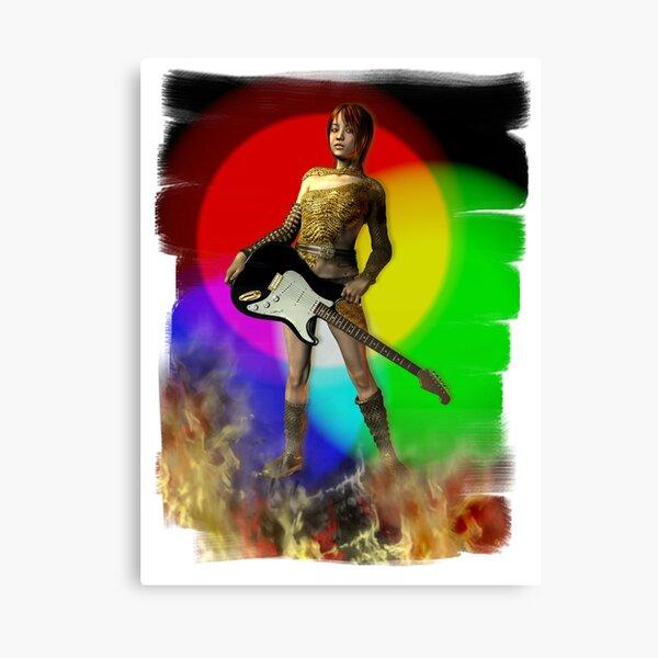 Rock n Roll Dream Canvas Print