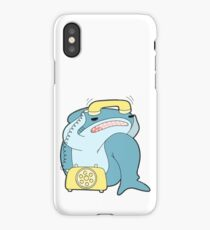 Telephone Stress Frompy Shark iPhone Case/Skin