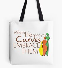 BeautyMarks: EMBRACE THEM CURVES Tote Bag