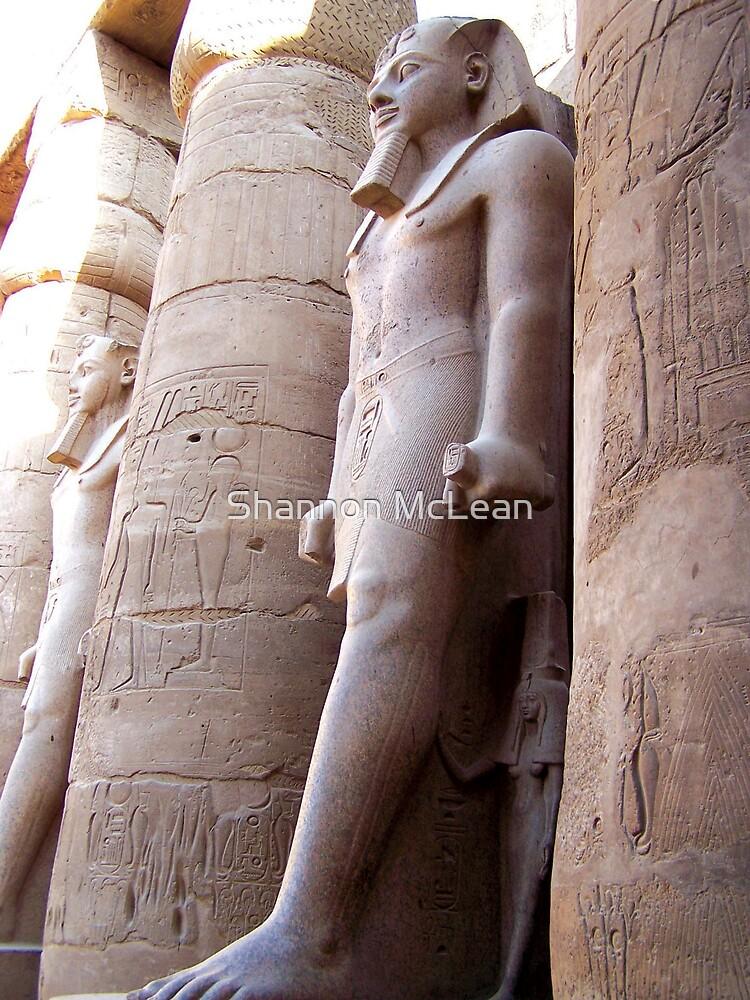 Karnak Temple  by shanmclean