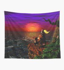 Donkey Kong Sunset Wall Tapestry