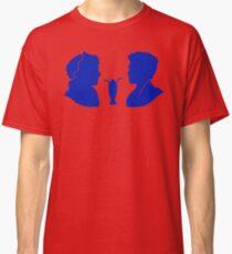 Milkshake Silhouette (J+A   Blue) Classic T-Shirt