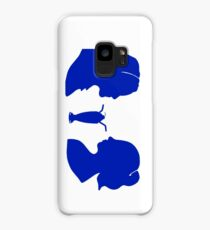 Milkshake Silhouette (V+B | Blue) Case/Skin for Samsung Galaxy
