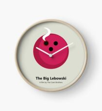 The Big Lebowski Clock