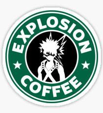 Explosionskaffee (Bakugo) Sticker