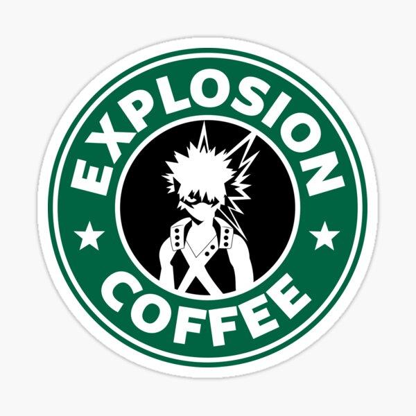 Café d'explosion (Bakugo) Sticker