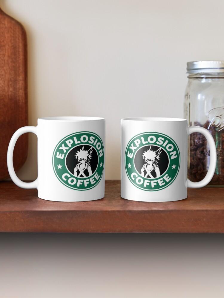 Alternate view of Explosion Coffee (Bakugo) Mug