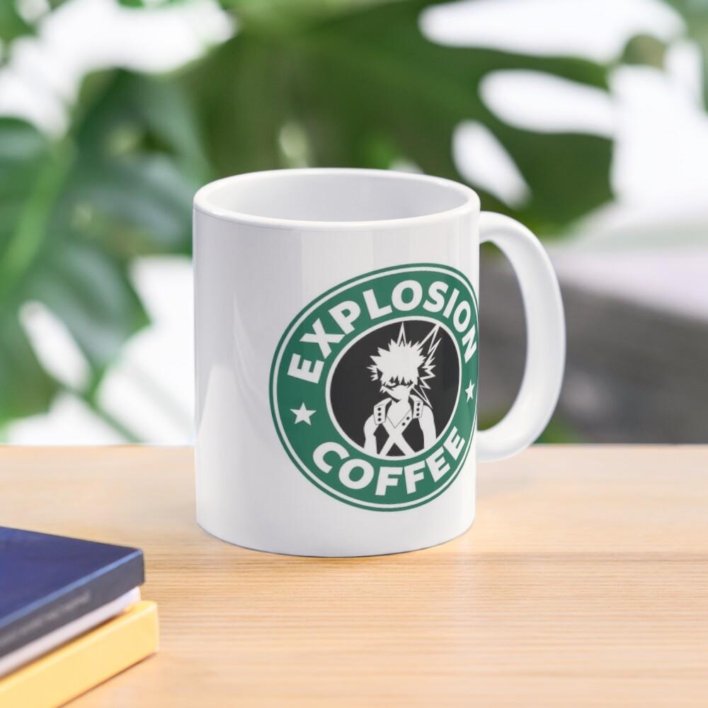 Explosion Coffee (Bakugo) Mug