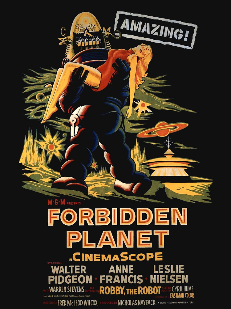 Forbidden Planet Poster by UnconArt