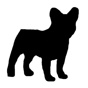 french bulldog silhouette by marasdaughter