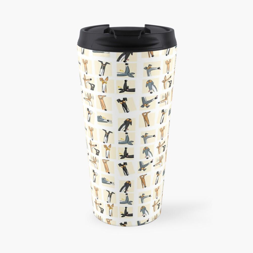 Heads up: Cream Travel Mug