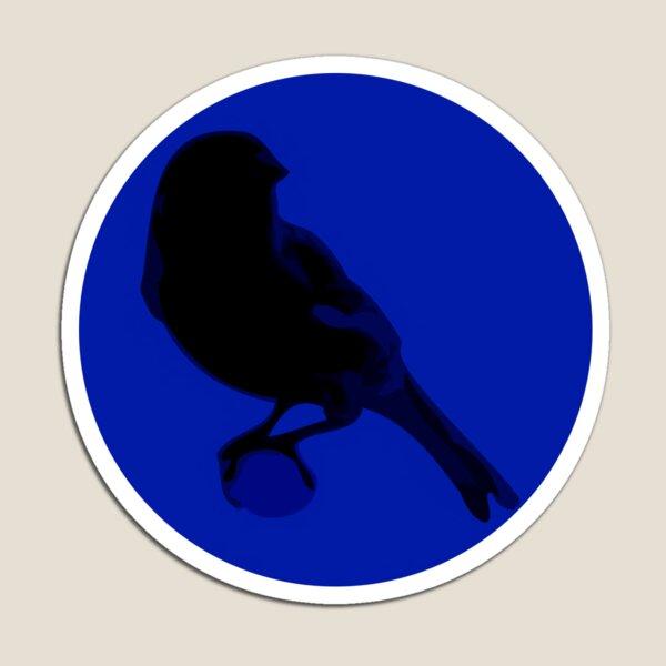 Canary Cry Circle Logo Magnet
