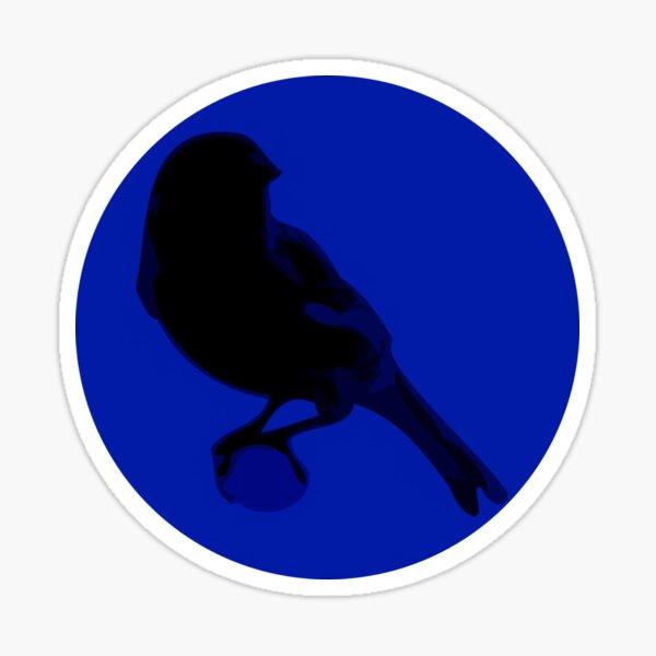 Canary Cry Circle Logo Sticker