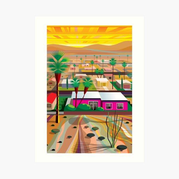 Twentynine Palms (Tall) Art Print