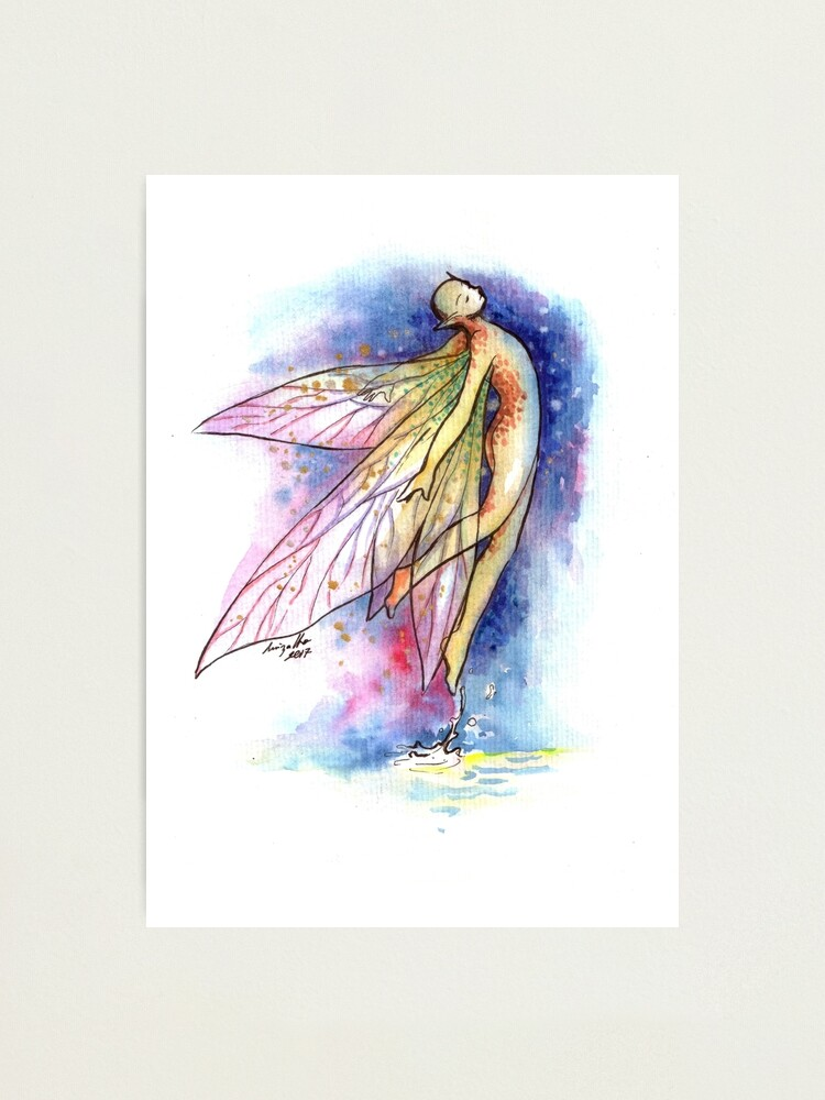 Alternate view of The Graceful Fairy Photographic Print