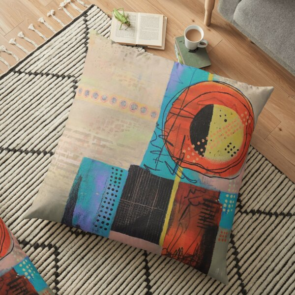 Sunny City Floor Pillow