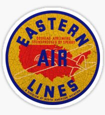 Eastern Airlines USA Sticker
