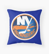 Space Islanders Throw Pillow