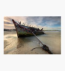 Ship Wreck Photographic Print