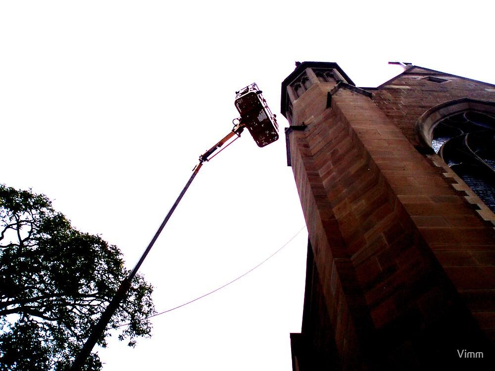 crane above my head by Vimm