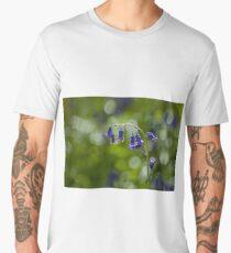 Native English Bluebells Backlit Men's Premium T-Shirt