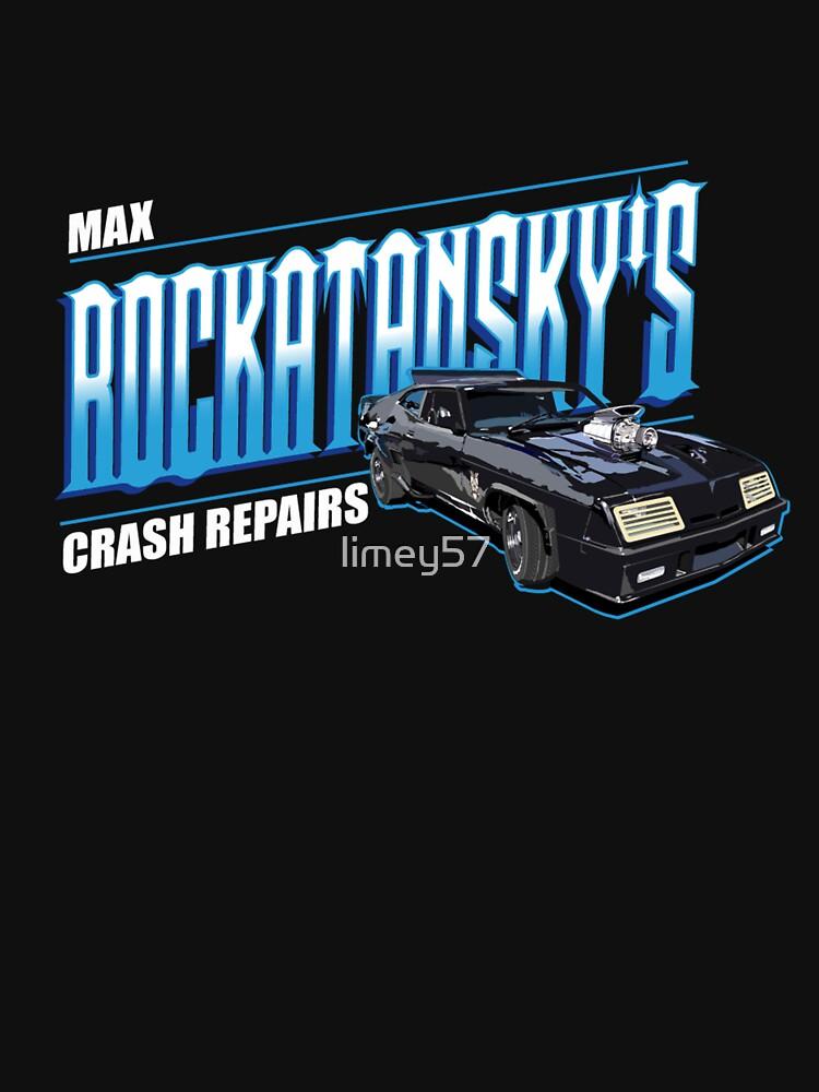 Max Rockatansky's Crash Repairs by limey57