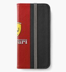 ferrarired iPhone Wallet/Case/Skin