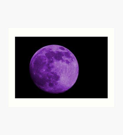 Lavender Moon Art Print