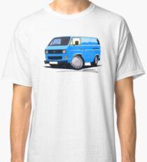 VW T25 Transporter Van Blue Classic T-Shirt